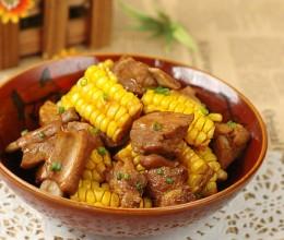 28道补充能量的大肉菜。【玉米烧排骨】