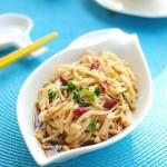 【葱油金针菇】拯救食欲的凉拌菜