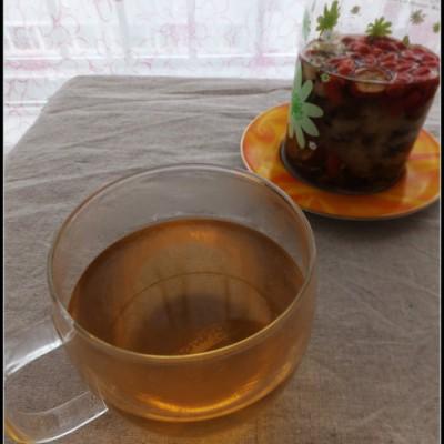 适合电脑一族的极具明目减肥功效的花果茶——菊楂决明茶
