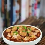 盛夏里讓你超級開胃的麻辣版香蔥豆腐---豆腐煮不碎的秘訣