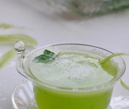 【柠檬莴笋汁】DIY鲜榨蔬果汁,对付夏季空调病!