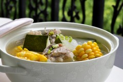 【玉米冬瓜煨圈圈骨】暖心又暖胃,居家常备36款营养汤煲!