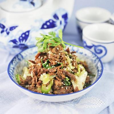 """【澳洲牛肉之北京味】舌尖上的京味儿--""""炒""""出来的老北京烤肉"""