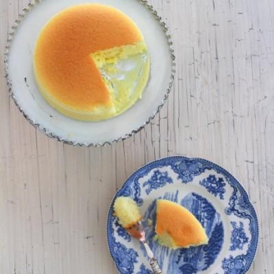 日式轻乳酪蛋糕三个要点烤出香软不裂的乳酪蛋糕