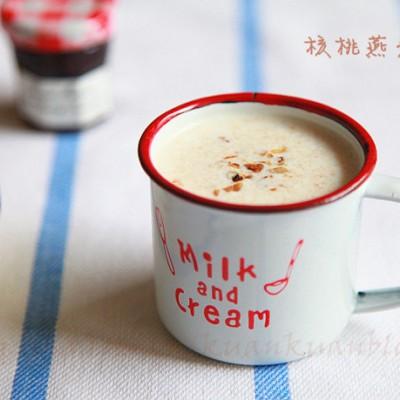 燕麦核桃牛奶