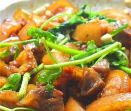 猪蹄两吃凉拌沙姜猪蹄&甜玉米胡萝卜猪骨汤