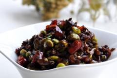 口味百搭的民间传统小菜——【雪里蕻酱毛豆】