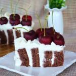 換一種方式愛你——櫻桃巧克力奶油蛋糕