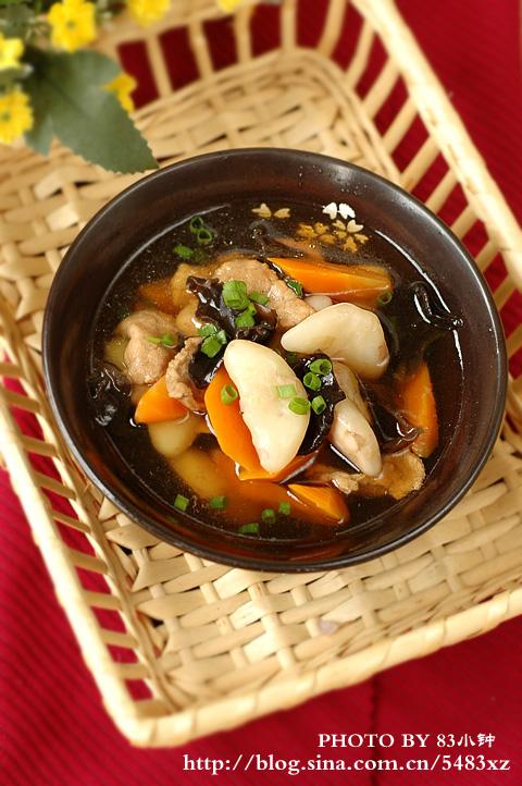 8分钟煮一锅营养均衡的快手汤【菱角瘦肉汤】