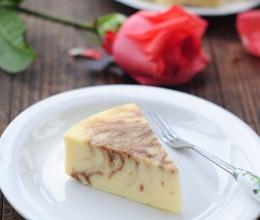 【咖啡大理石乳酪蛋糕】为七夕预热一款甜蜜点心