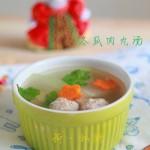 降秋燥的冬瓜肉丸汤