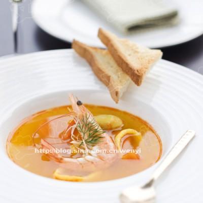 怎样在家自己做好喝的法式浓汤-----法式海鲜浓汤(含熬制鱼汤的方法)