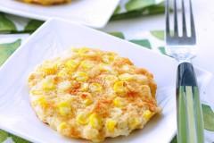 香甜可口外脆里松鲜甜玉米饼——芙蓉鲜甜玉米饼