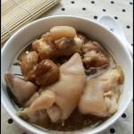 秋季润肺养颜美容汤——无花果蹄花汤