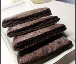 备受追棒的杂粮养生饼——奶香黑米饼