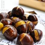 金秋时节栗飘香,简单3步自制好吃易剥的烤栗子!
