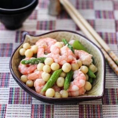 用苏州当季的时令特产做一道经典名菜——【鸡头米虾仁】
