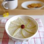 秋季养生—梨粥