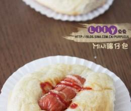 Mini肠仔包。老少皆宜的零难度调理面包。