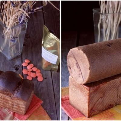 天然酵种橘味巧克力可可吐司-圆柱笼子模血泪心得