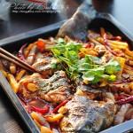 【香辣烤鱼】在家也能做好吃的烤鱼