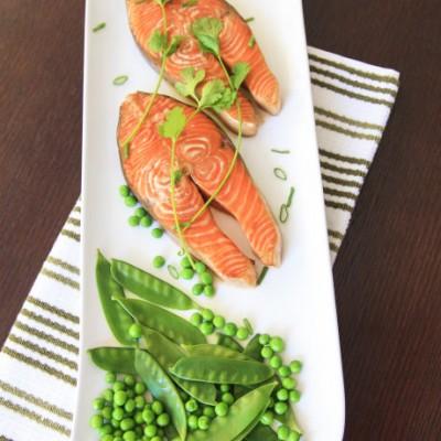 烤照烧三文鱼--无需烹饪技巧,三文鱼的美味吃法