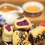 重阳节为老爸老妈特别订制的点心【紫薯一口酥】
