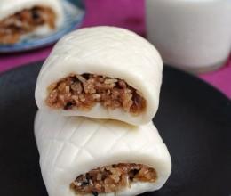 早餐新选择改良后美貌又美味的广式茶点:)--肉香糯米卷