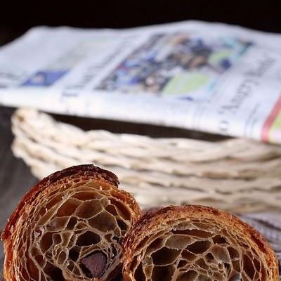 天然酵种咖啡巧克力可颂-拒绝贫血