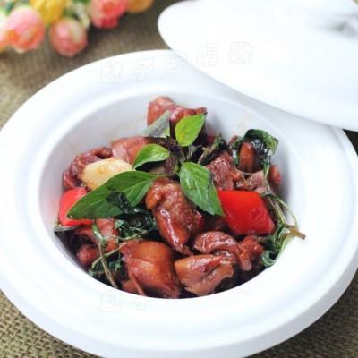 在家也可以轻松做江西名菜——【三杯鸡】