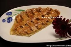 【烘焙】第一次烘焙,清香清甜苹果派