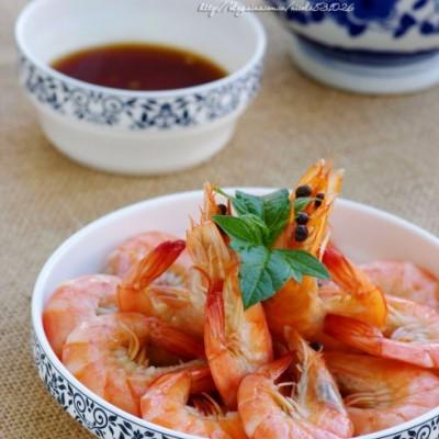 宴客不可少的传统苏菜:富含钙质的清鲜盐水虾