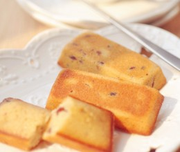 PH糕点系列(六)法国经典金融家蛋糕——蔓越莓费南雪