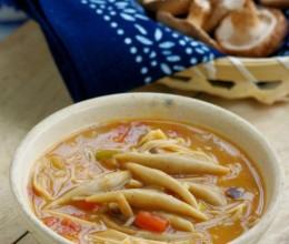 吃饱还想吃的保健面食:香飘四邻的蘑菇莜面鱼鱼(超详细步骤)