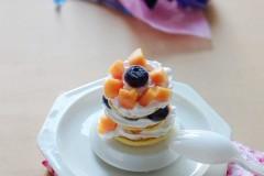 废物巧利用,豆渣的华丽变身---水果奶油豆渣小饼