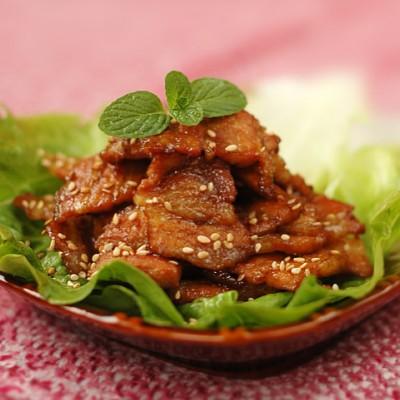"""非同一般的平底锅""""烤""""肉。【香煎五花肉】"""