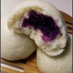 紫薯的别样吃法——紫薯包