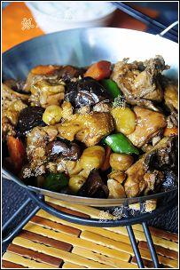 秒杀粮食的佳肴----干菜烧鸭