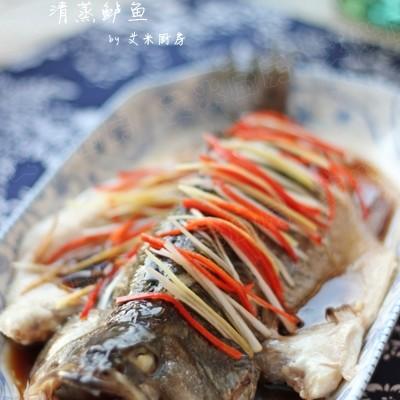 蒸出来的鲜美滋味----清蒸鲈鱼
