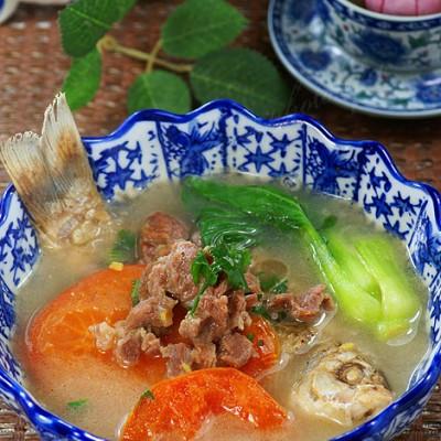 冬天里最鲜的那碗汤——鱼羊鲜