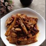 受回锅肉启发的下饭菜——回锅莲藕