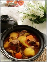 10分钟搞定冬日里的一碗御寒暖身菜——萝卜丝汆羊肉片
