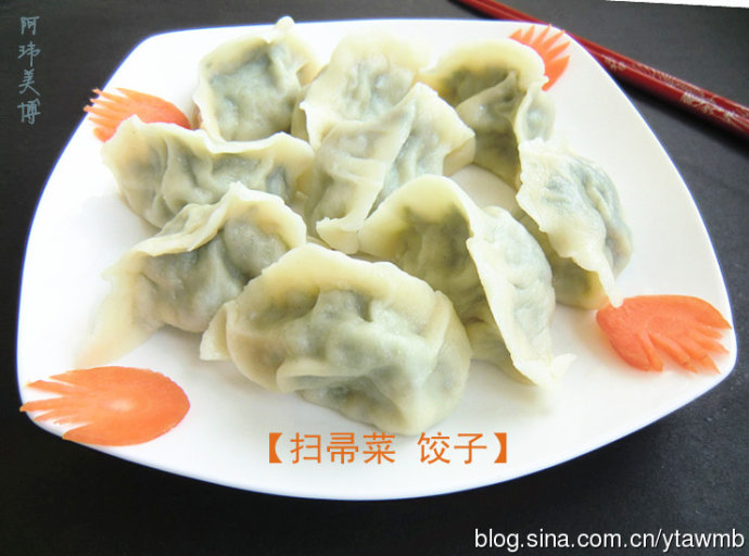 冬至北方人吃饺子不受冻扫帚菜饺子健康又营养