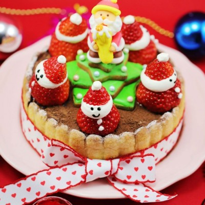 6款圣诞甜点伴你欢度圣诞平安夜---圣诞棋格提拉米苏