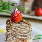 层层叠叠都是为了你---巧克力千层蛋糕