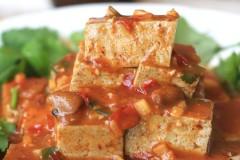 麻辣黑豆腐——营养美味兼顾的素菜
