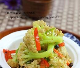 十分钟完成的小炒家常菜---小炒菜花