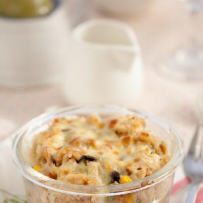 剩米饭的华丽转身---芝士蘑菇焗饭