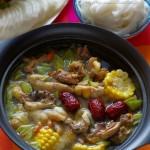 火锅是专属冬天的福利:粤式养颜鸡汤火锅