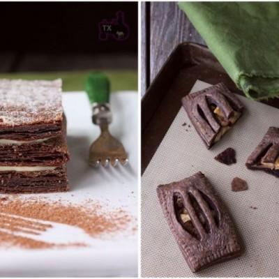 拿破仑和苹果派-超麻烦PH巧克力千层酥皮